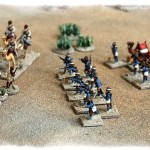 The British Camel Corps Dismount For Action...