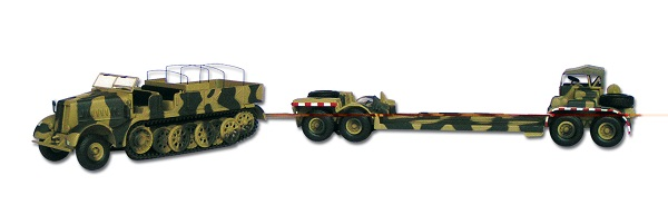 Famo Halftrack & Trailer
